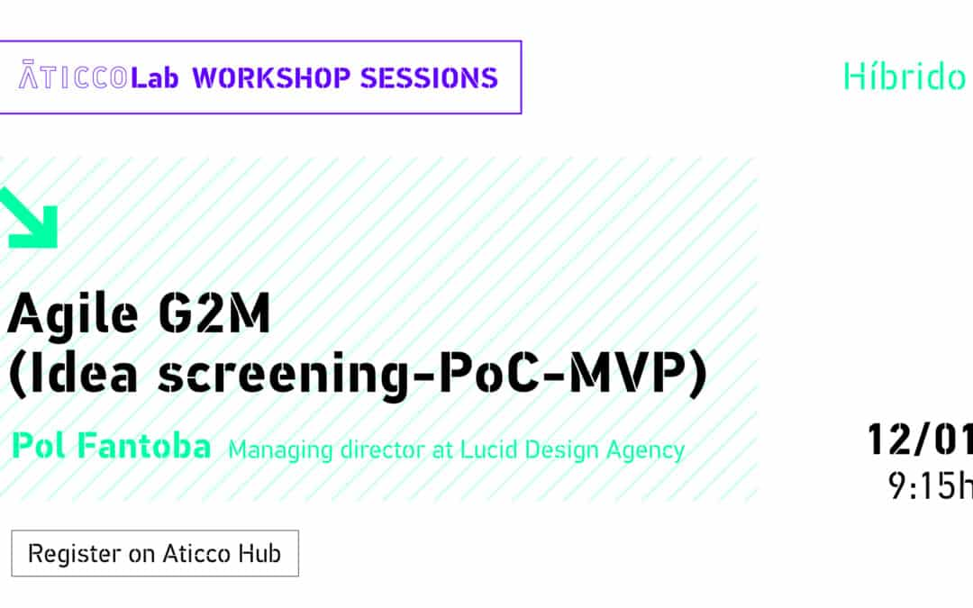 Workshop: Agile G2M (Idea screening-PoC-MVP)