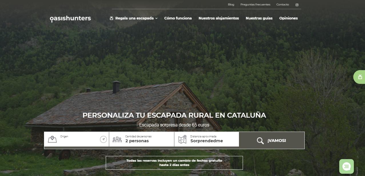 Oasis Hunters web