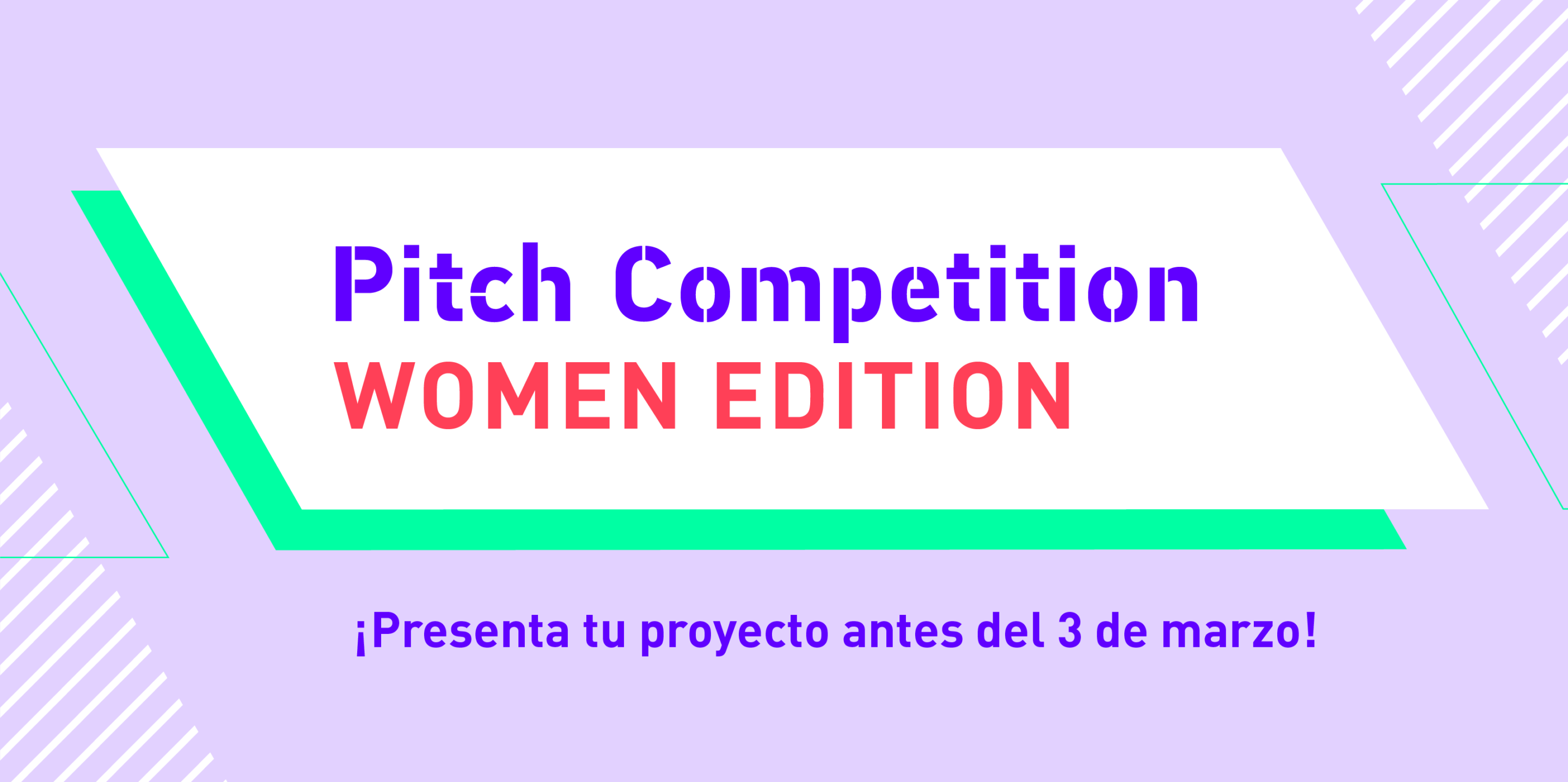 Pitch Competition Women Edition