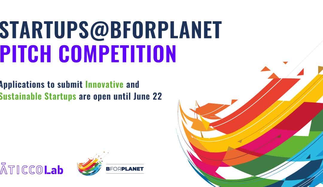 Startups@BforPlanet: la Pitch Competition para las startups que apuestan por la sostenibilidad