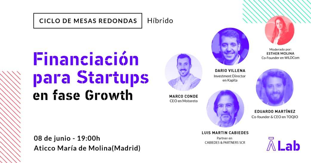 "Mesa Redonda: ""Financiación para Startups: La fase Seed"""