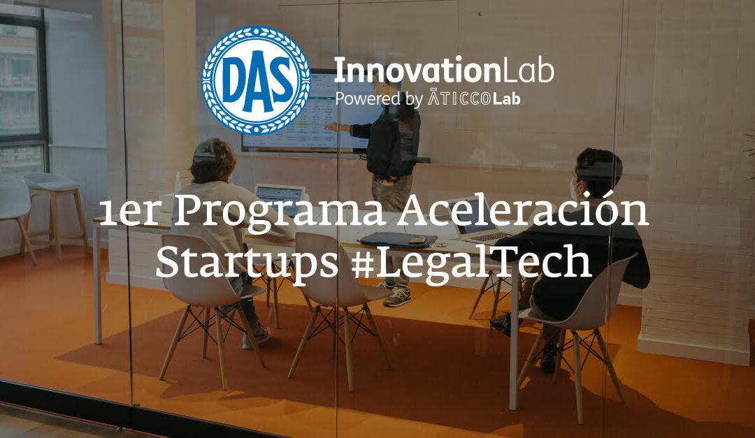 AticcoLab y DAS hemos creado la primera aceleradora para startups de Legal Tech