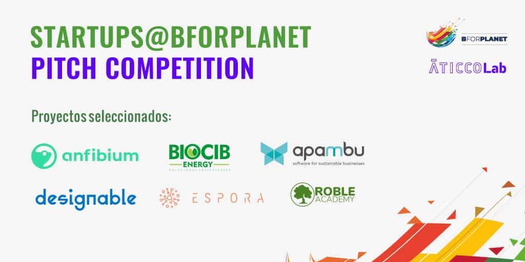Presentamos las startups finalistas de la Startups@BforPlanet Pitch Competition